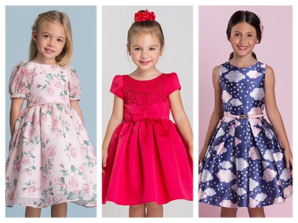 Pink Ninas 20 Vestidos De Festa Infantil Dignos De Uma