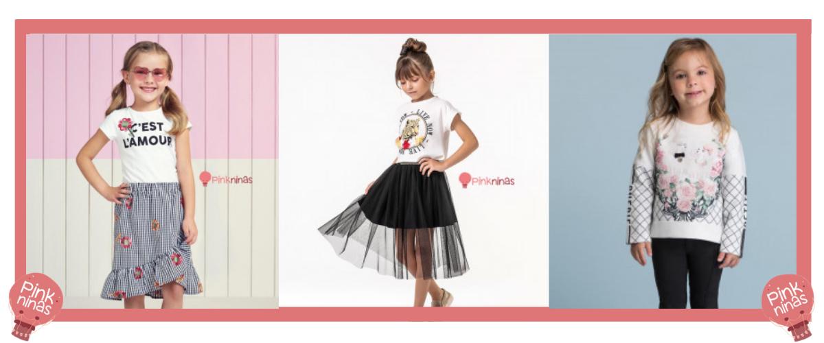 Moda minimalista para crianças