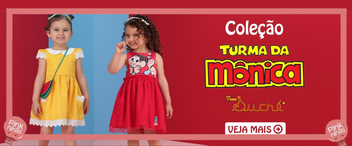 Conheça a coleção Turma da Mônica, uma parceria exclusiva com a Mon Sucré