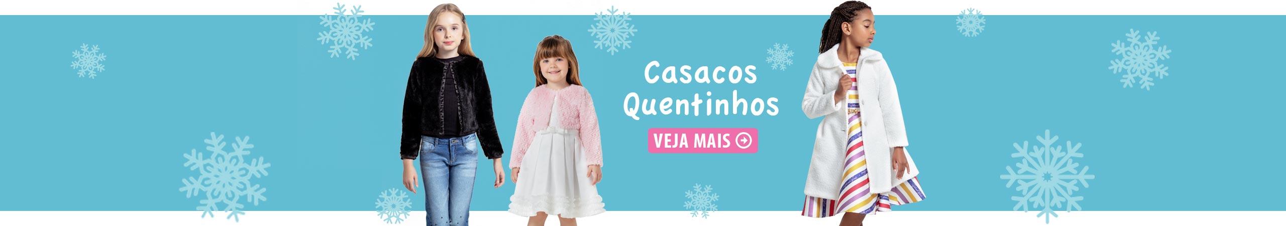 Casacos Quentinhos - Pink Ninas