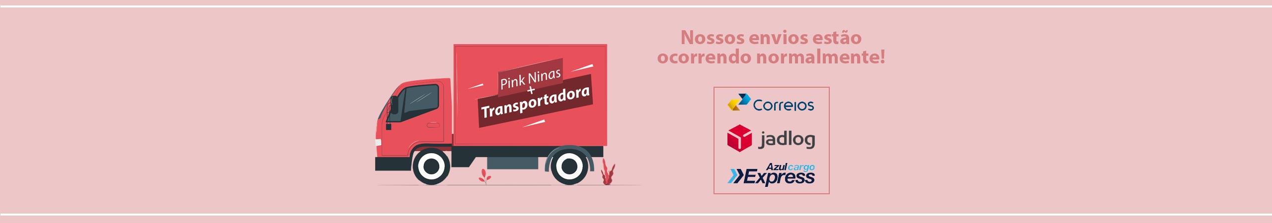 Transportadoras Pink Ninas