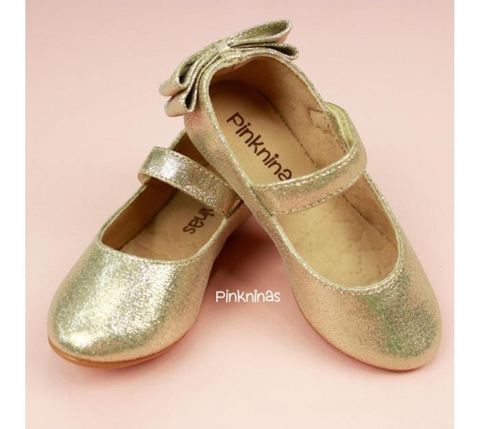 sapato-infantil-suede-cristal-ouro-light-laco-duplo-estilo-sapatilha-destaque