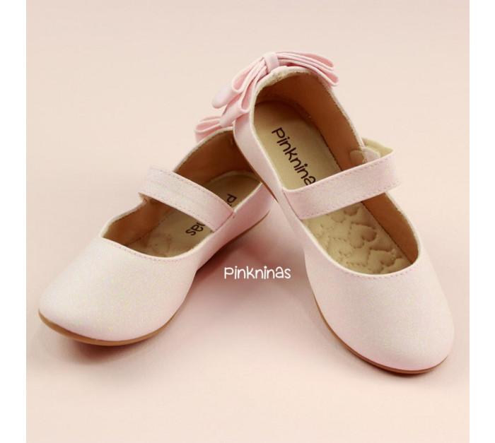 sapato-infantil-gliter-diamante-luxo-rosa-laco-duplo-estilo-sapatilha-frente