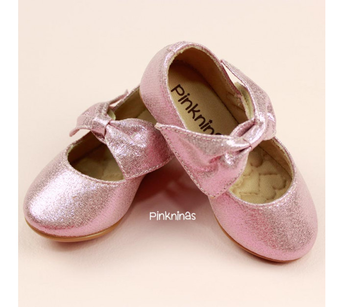 sapato-infantil-suede-cristal-rose-laco-estilo-sapatilha-frente