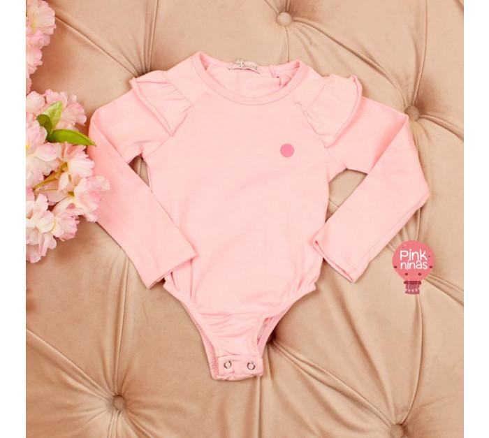 body-infantil-rosa-mon-sucre-star-frente