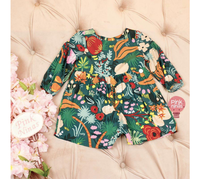 macacao-infantil-verde-mon-sucre-floral-bebe-frente
