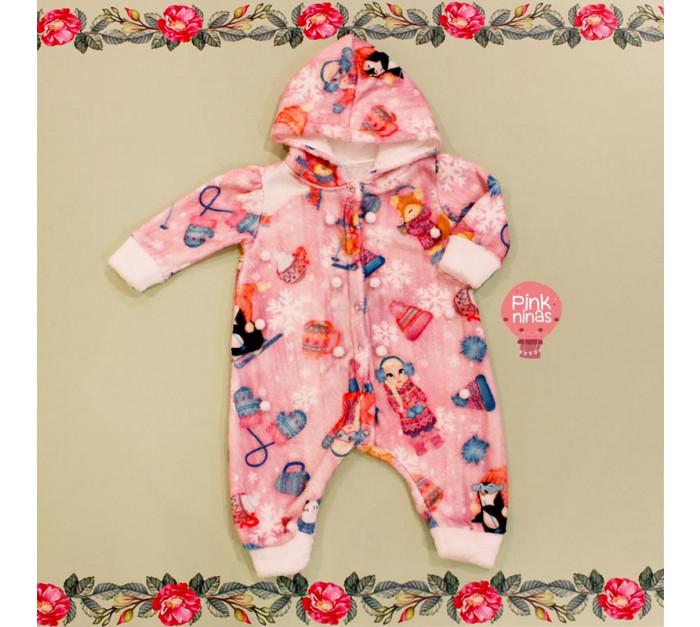 macacao-infantil-rosa-mon-sucre-pompons-bebe-frente