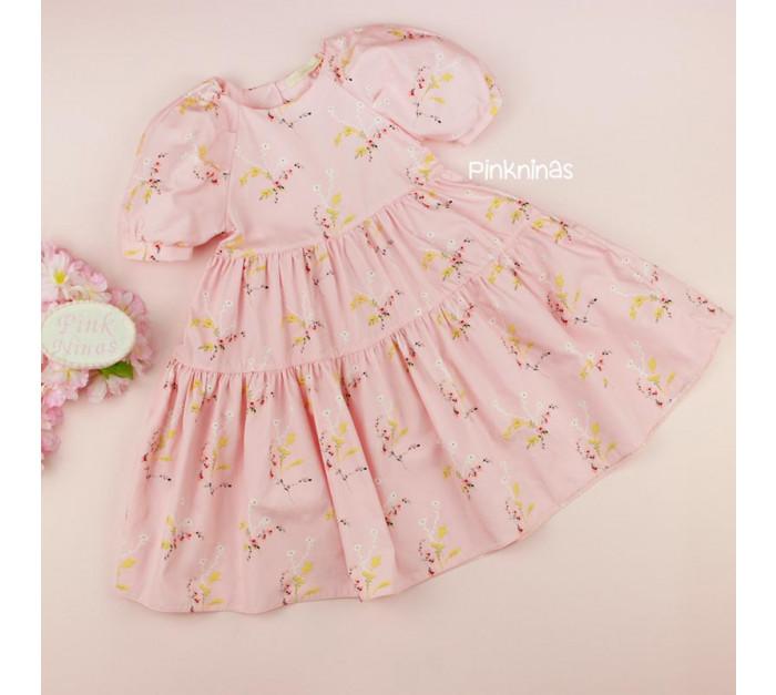 vestido-infantil-rosa-petit-cherie-natural-de-tricoline-floral-frente