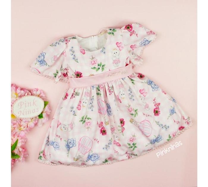 vestido-de-festa-infantil-rosa-petit-cherie-baloes-classic-flowers-bebe-frente