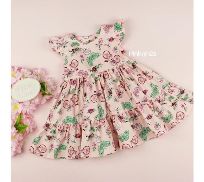 vestido-infantil-bebe-rosa-petit-cherie-natural-tricoline-bike-frente