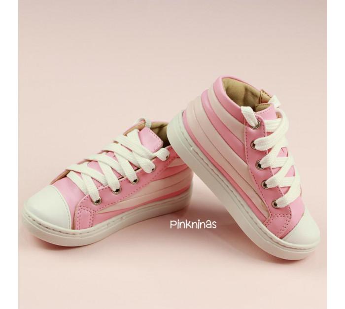 tenis-infantil-tipo-botinha-napa-branca-e-rosa-dois-tons-frente