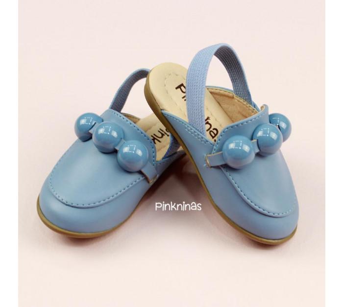 sapato-infantil-mule-de-napa-azul-chuva-frente