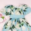 vestido-de-festa-infantil-azul-petit-cherie-floral-alessandra-detalhe