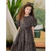 vestido-infantil-preto-petit-cherie-natural-de-tricoline-floral-rosa-menina