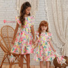 vestido-infantil-multicolorido-petit-cherie-natural-de-tricoline-floral-toque-neon-meninas