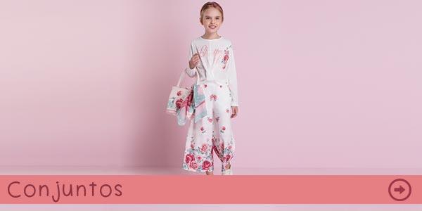 Conjuntos Infantis na Pink Ninas