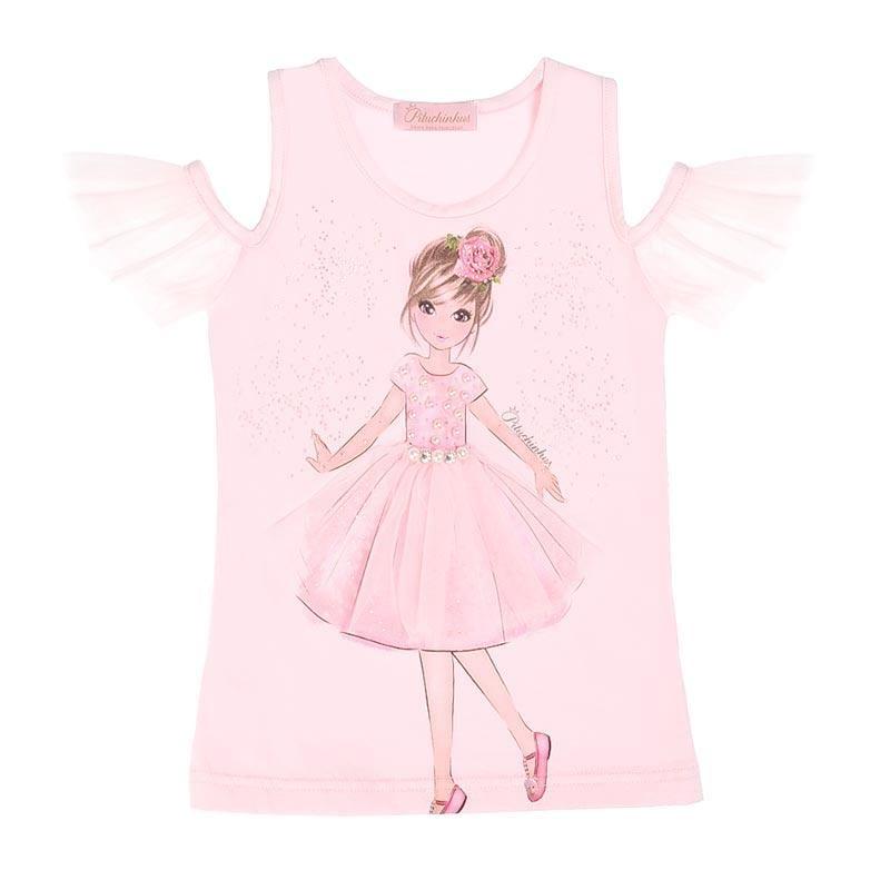 blusa feminina infantil