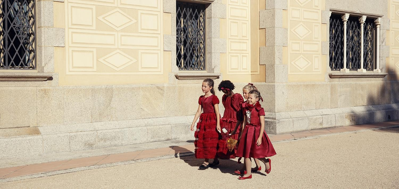 Vestidos Infantis Petit Cherie