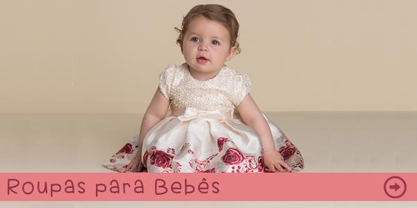 Roupas e vestidos para bebês na Pink Ninas